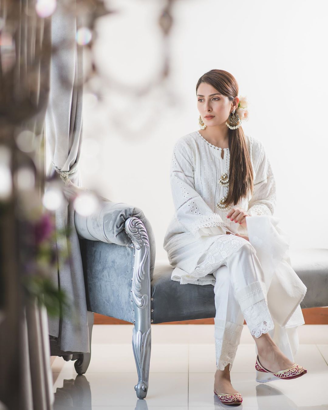 Awesome New Eid Photos of Ayeza Khan with her Kids