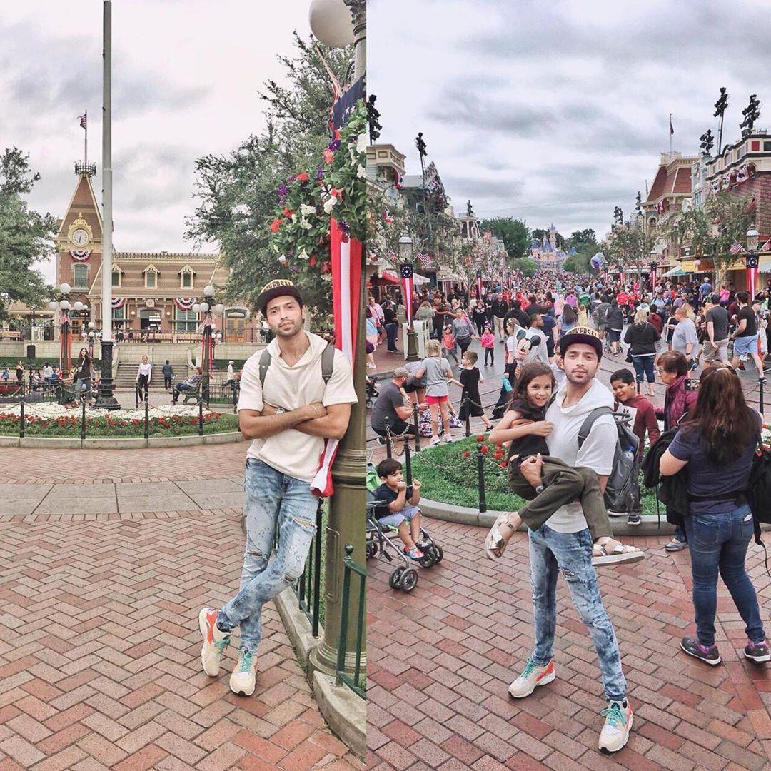 Fahad Mustafa with his Wife and Kids Enjoying Holidays in USA