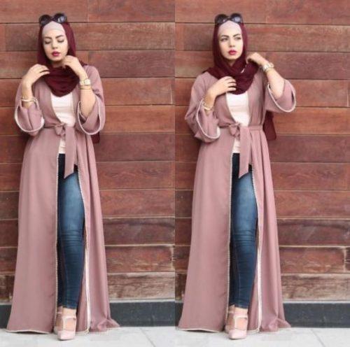 Stylish Modern Abaya Fashion Styles For A Unique Style For Yr 2019-20