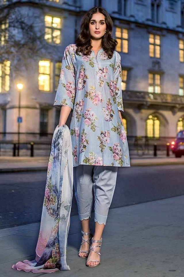 Gul Ahmed Glamour Embroidered 3PC Suits | Check Collection 2019