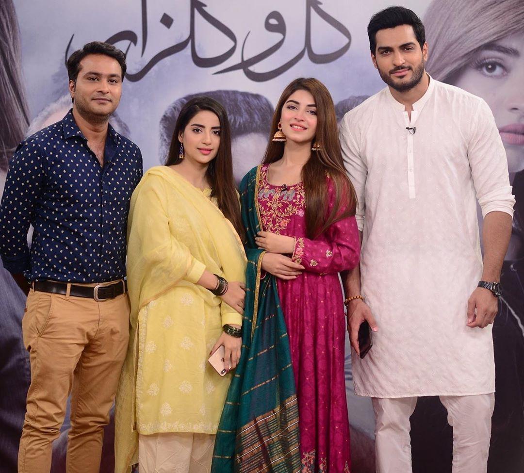 Famous Drama Gul-o-Gulzar Cast in Good Morning Pakistan