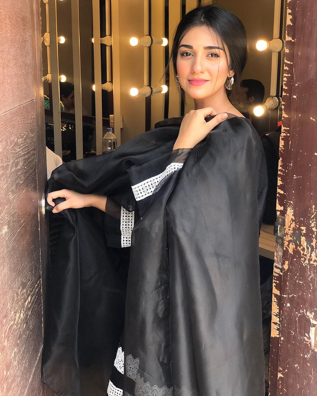 Beautiful Actress Sarah Khan Spotted in Gorgeous Dressing