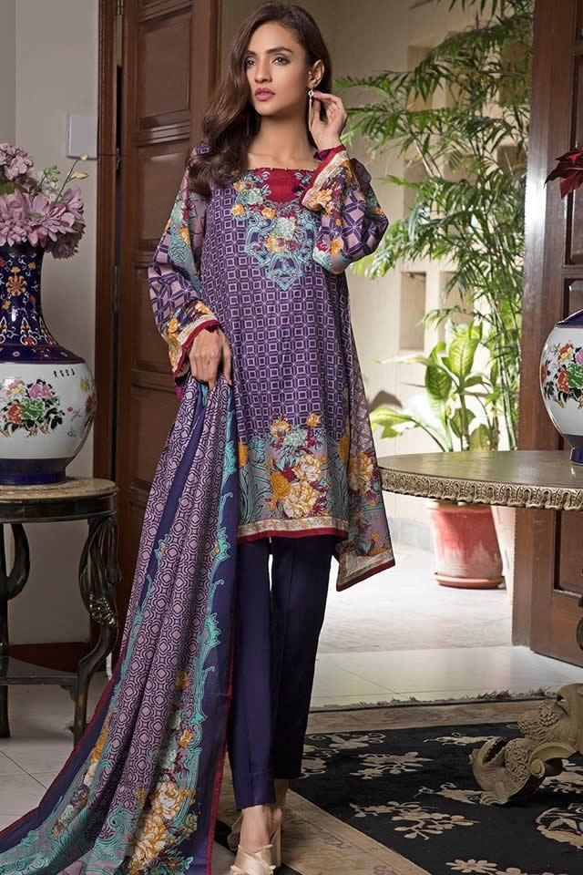 Ittehad Textiles Brings Awesome Crystal Lawn Collection