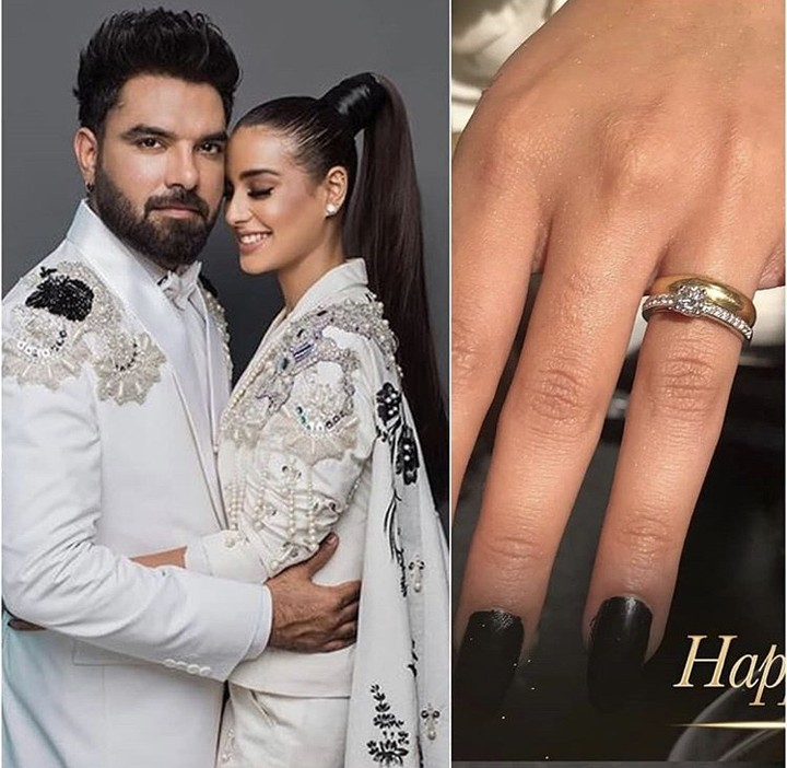 Finally, Yasir Hussain Proposed Iqra Aziz While Hosting Lux Style Awards 2019
