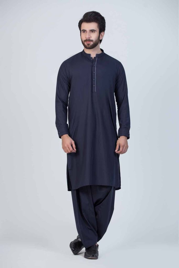 Collection of Pakistani Men's Kurta Shalwar Styles from Famous Brands