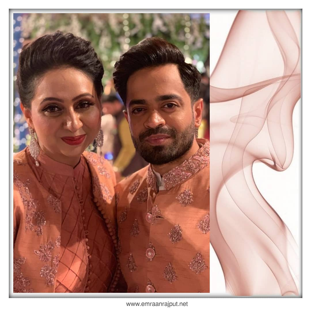 Naveed Raza Celebrating His Anniversary with wife Kanwal
