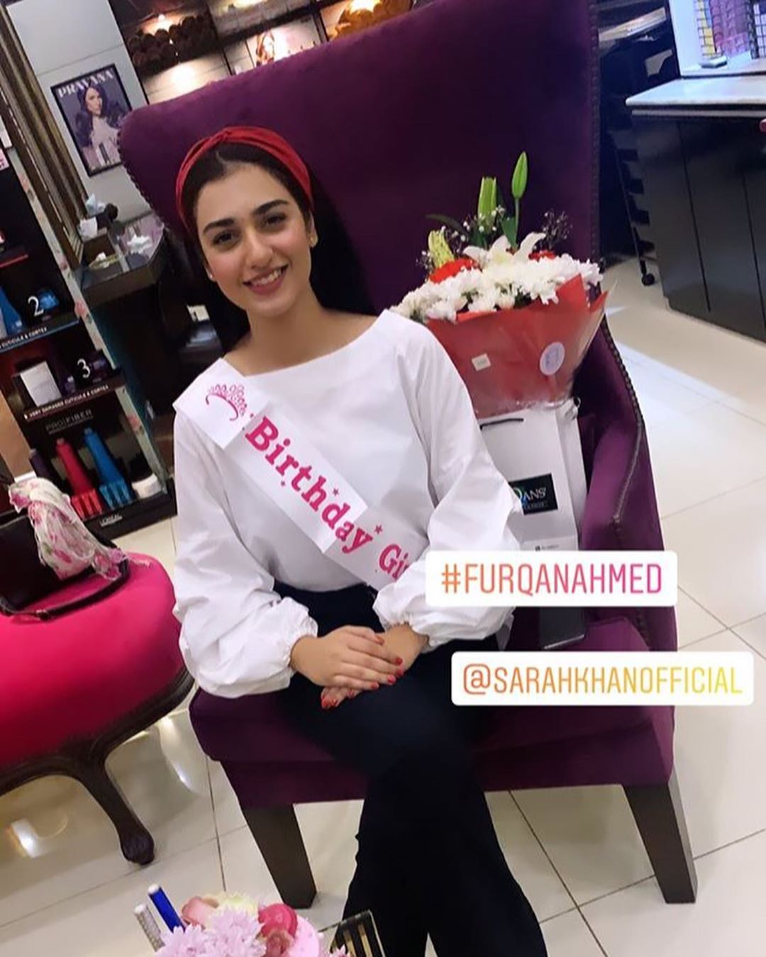 Gorgeous Sarah Khan Celebrated Birthday with her Sisters