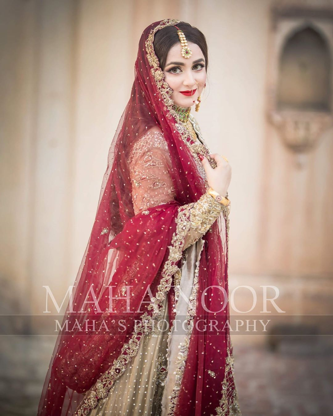Beautiful Clicks of Yumna Zaidi is in New Bridal Shoot