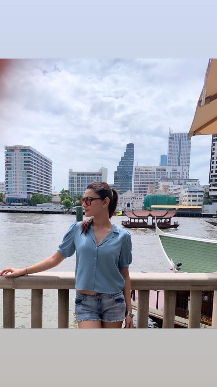 Kiran Haq in Bangkok | Here Few Bold Captured Pictures