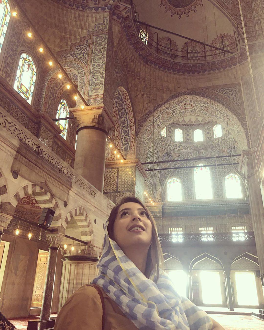 Actress Komal Aziz Having Leisure Time Spotted in Turkey