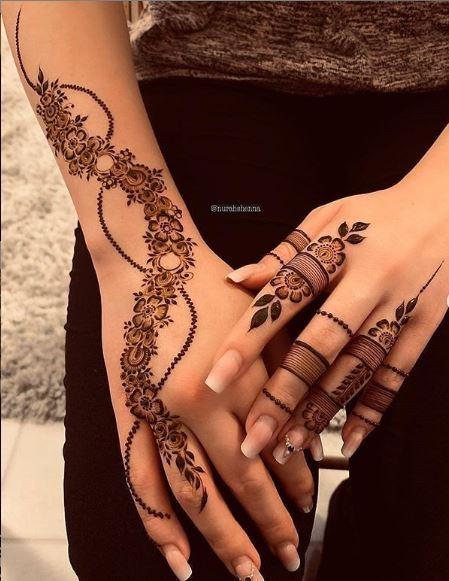 Stylish Eid Mehndi Styles For Eid-ul-Azha