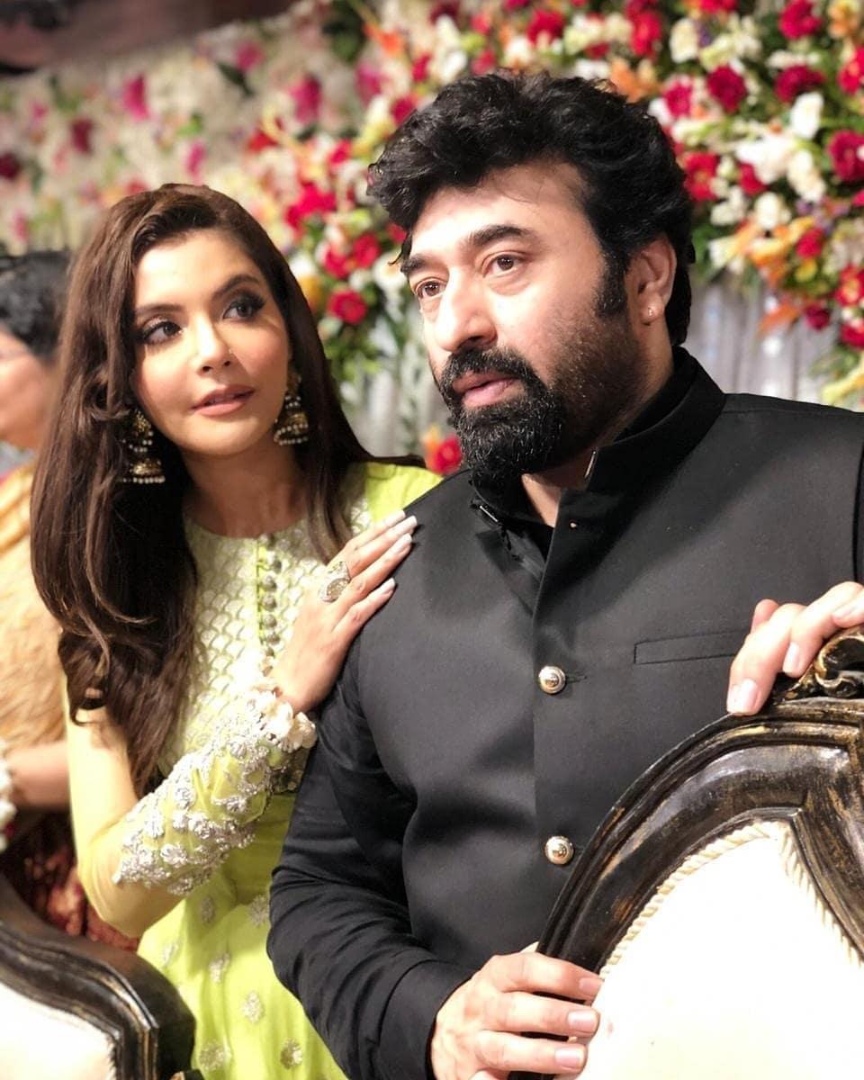 Mangni Pictures of Host Nida Yasir Brother Talha Pasha