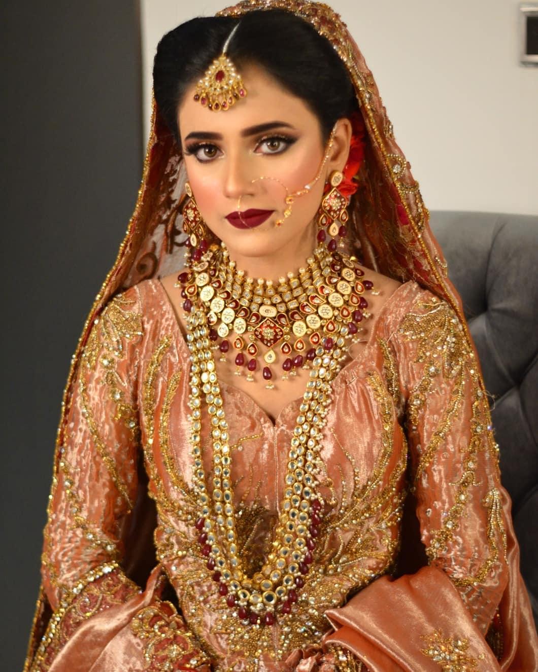 Beautiful Photos of Makeup Artist Babar Zaheer Wedding