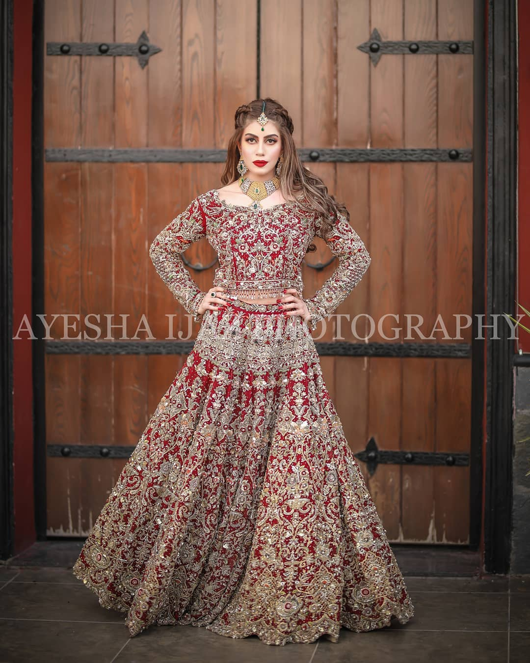Actress Sadia Faisal Looking Awesome in her New Bridal Shoot