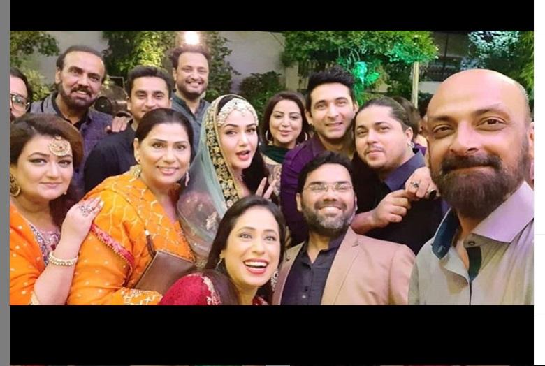 Beautiful Clicks / Videos Actress Naheed Shabbir Wedding