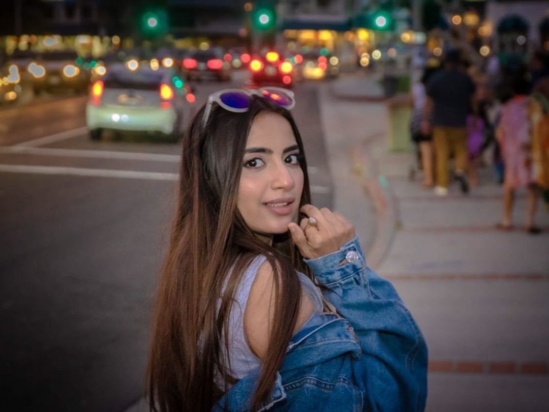 Saboor Aly Beautiful Clicks from USA