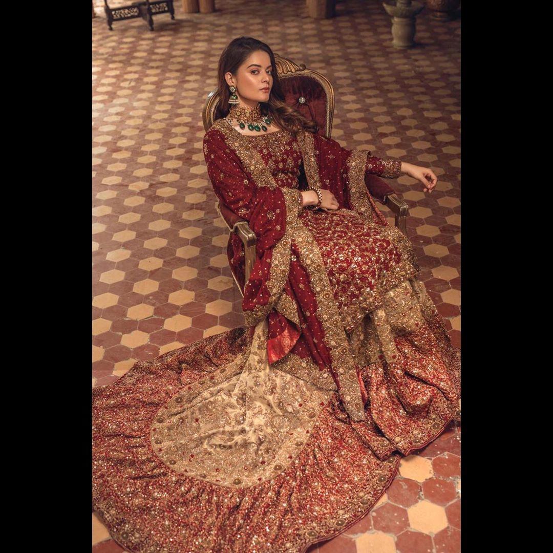 Beautiful Minal Khan New Photo Shoot