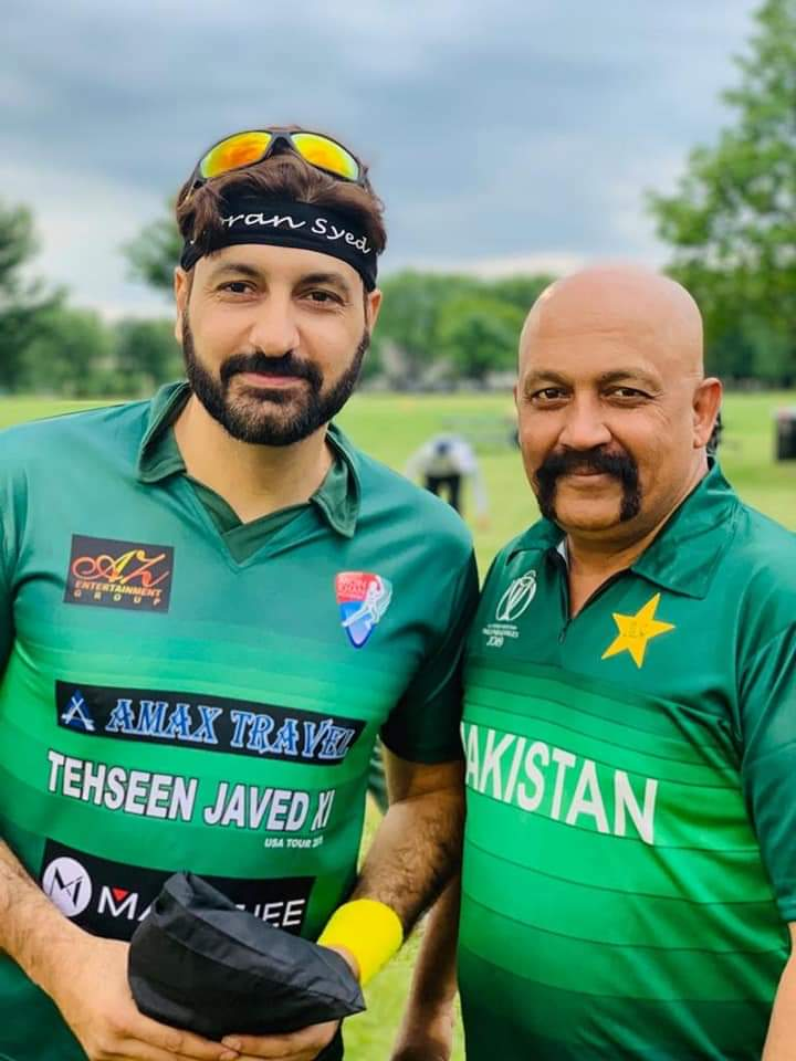 Pakistani Celebrities Playing Cricket 10