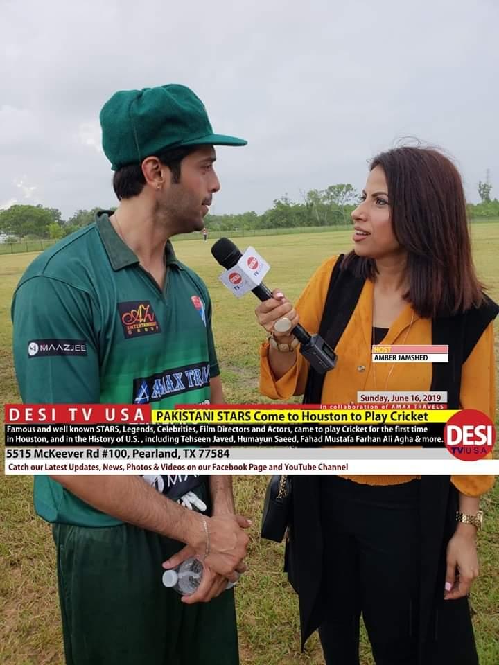 Pakistani Celebrities Playing Cricket 15