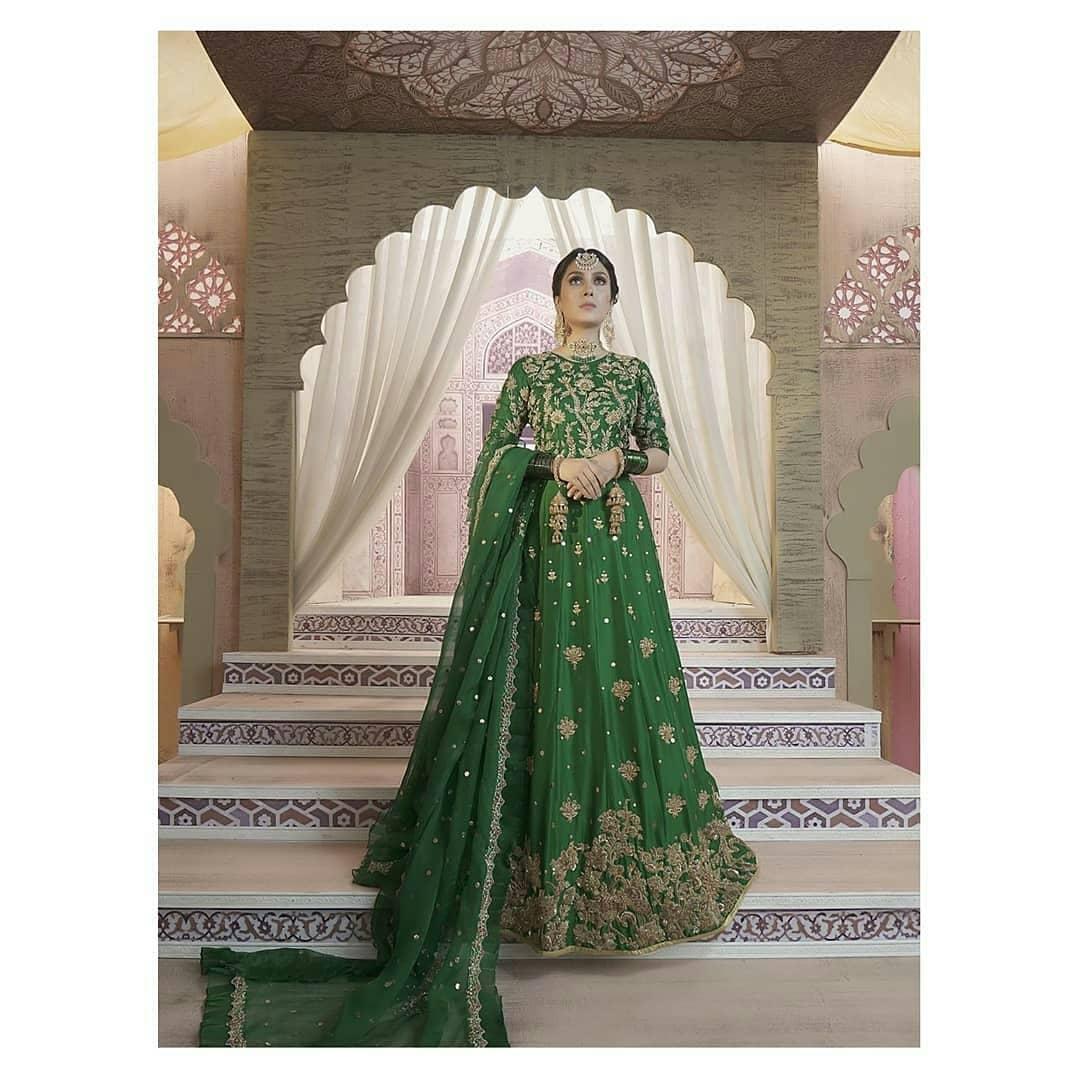 Awesome Bridal Photoshoot of Actress Ayeza Khan