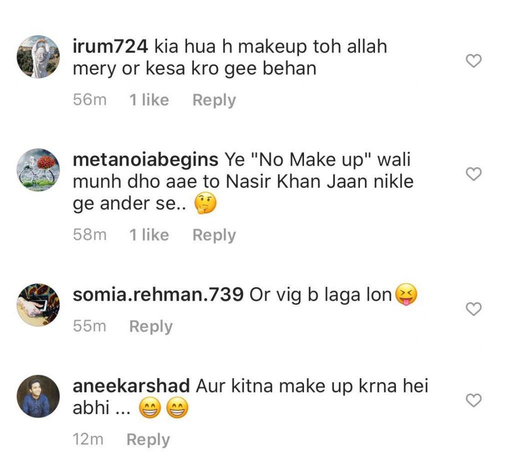 Nida Yasir For No-Makeup Look invites Sharp Criticism