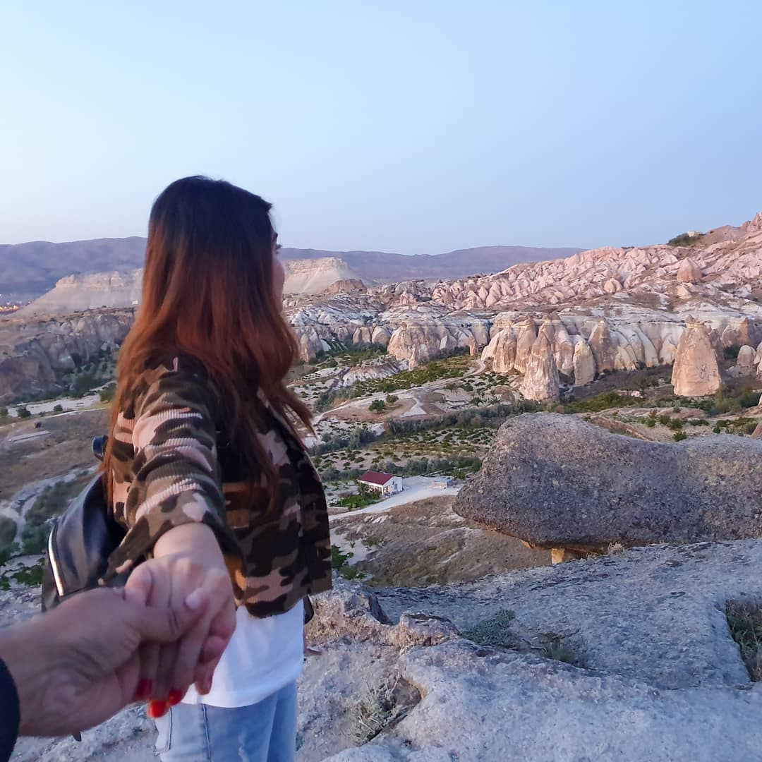 Awesome Clicks of Alizeh Tahir with Her Husband in Turkey