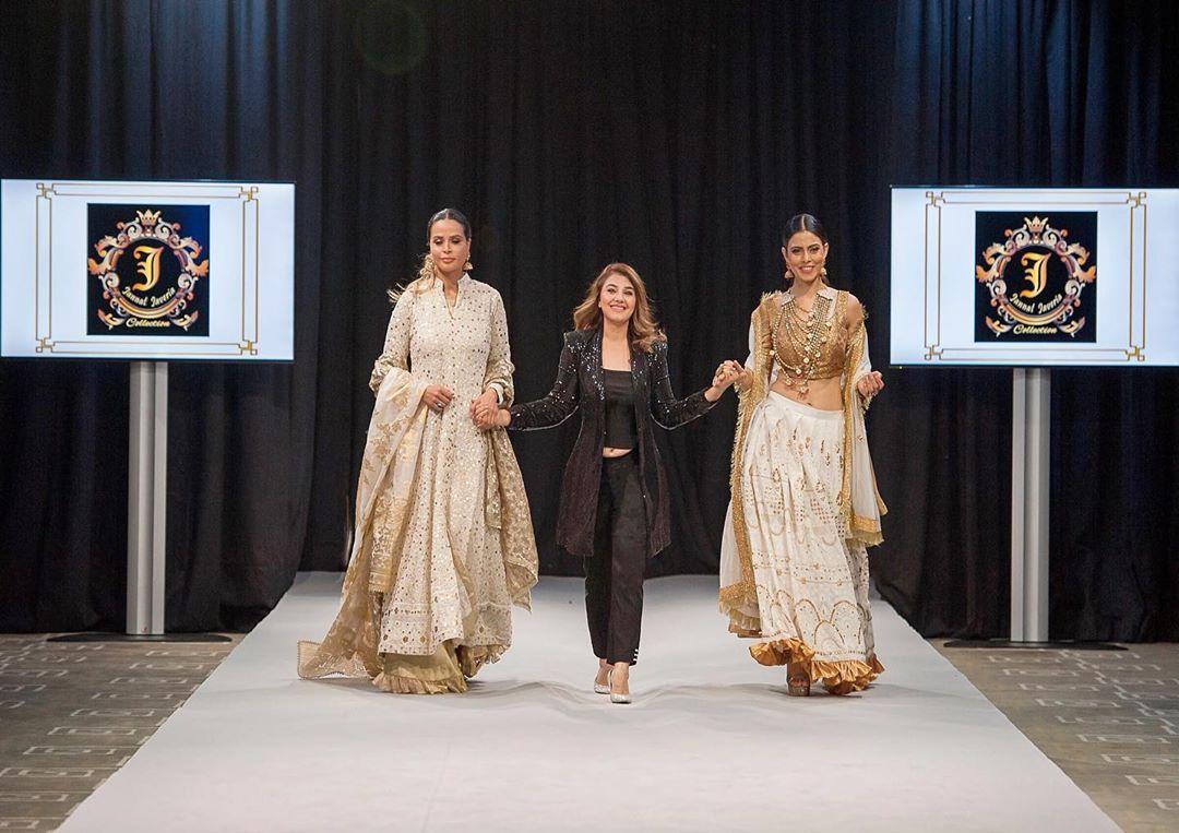 Javeria Saud in Switzerland for Pakistan Fashion Week 2019
