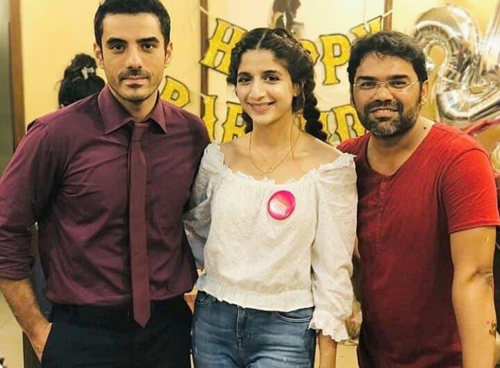 Beautiful Mawra Hocane Celebrates Her Birthday With Work Family