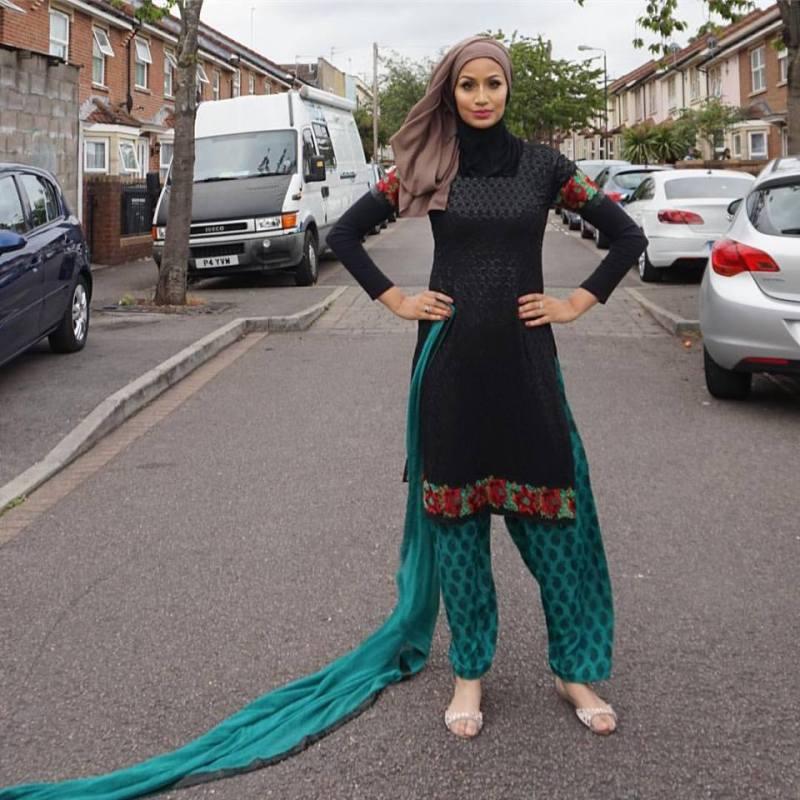 Unique Ways to Wear Hijab with Shalwar kameez