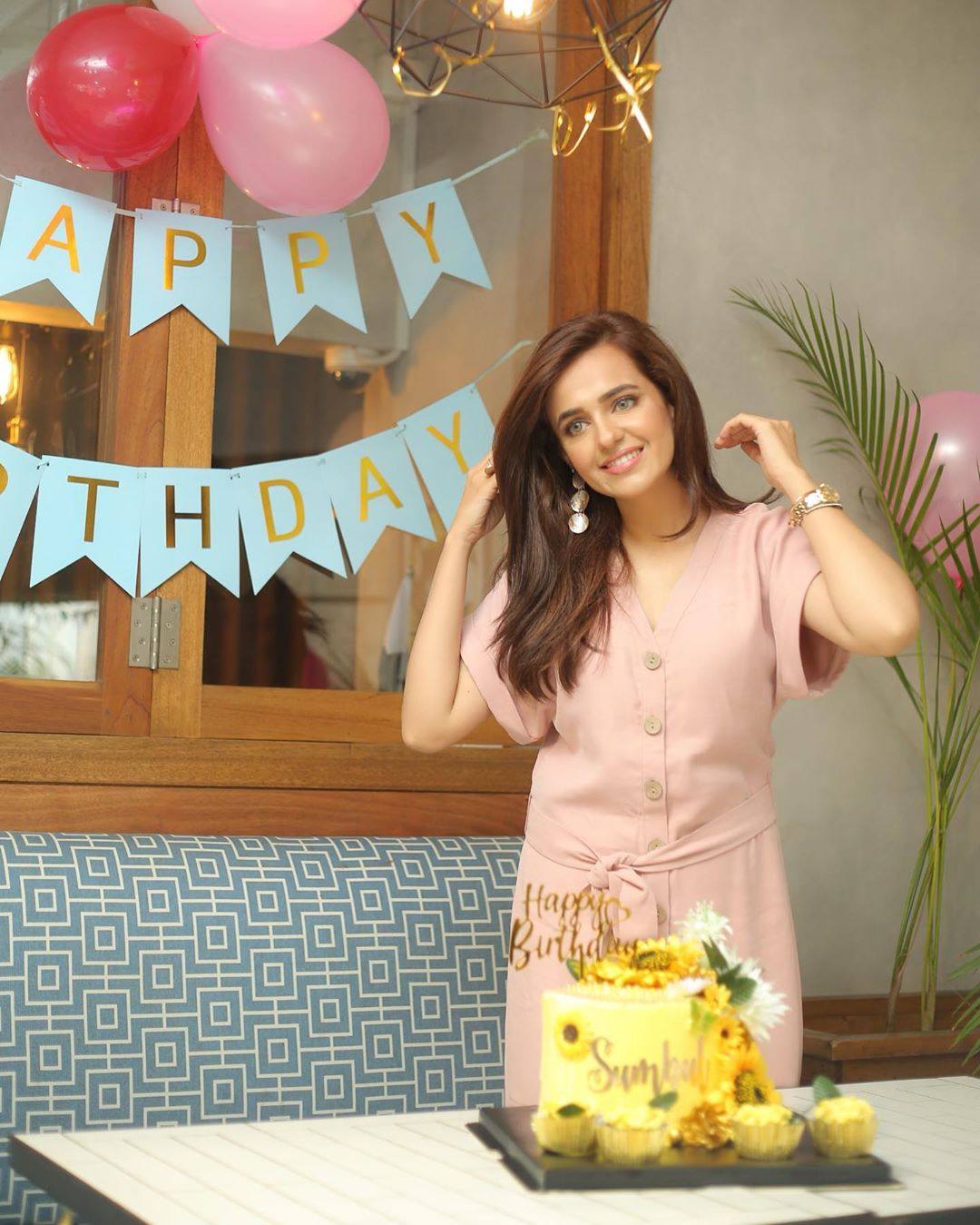 Beautiful Sumbul Iqbal Birthday Party Pictures
