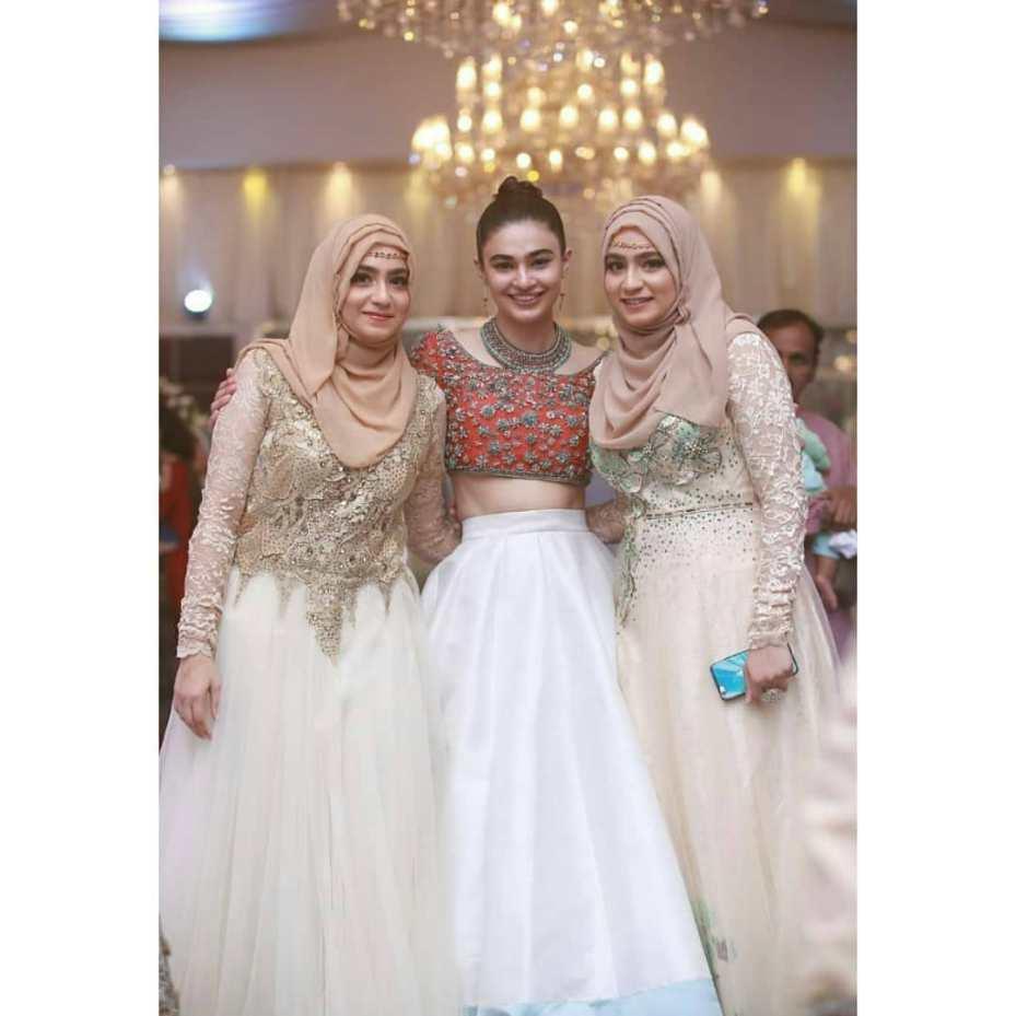 Saheefa Jabbar Khattak Recent Clicks from Her Friend Weeding