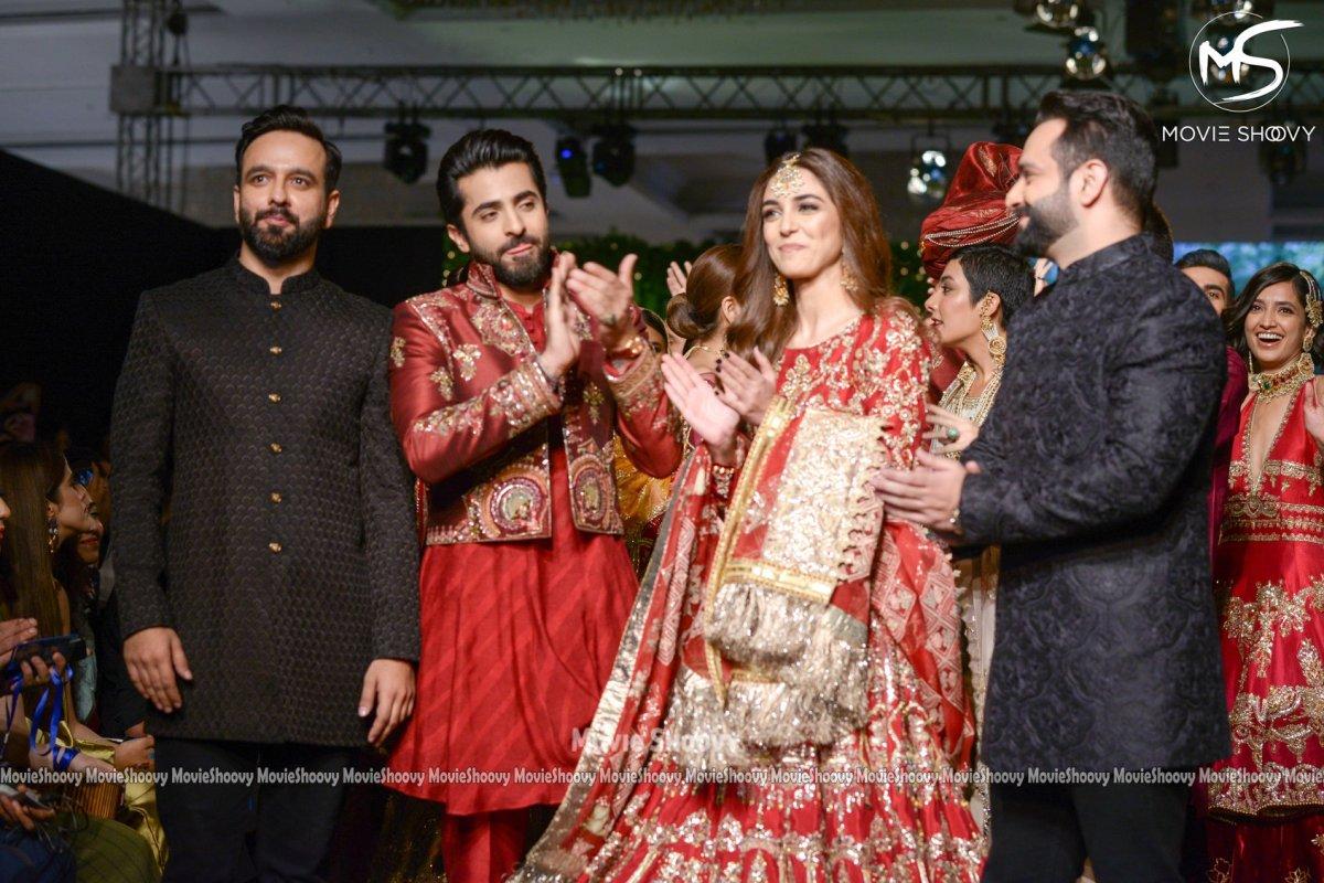Beautiful Maya Ali and Sheheryar Munawar Clicks from PLBW19