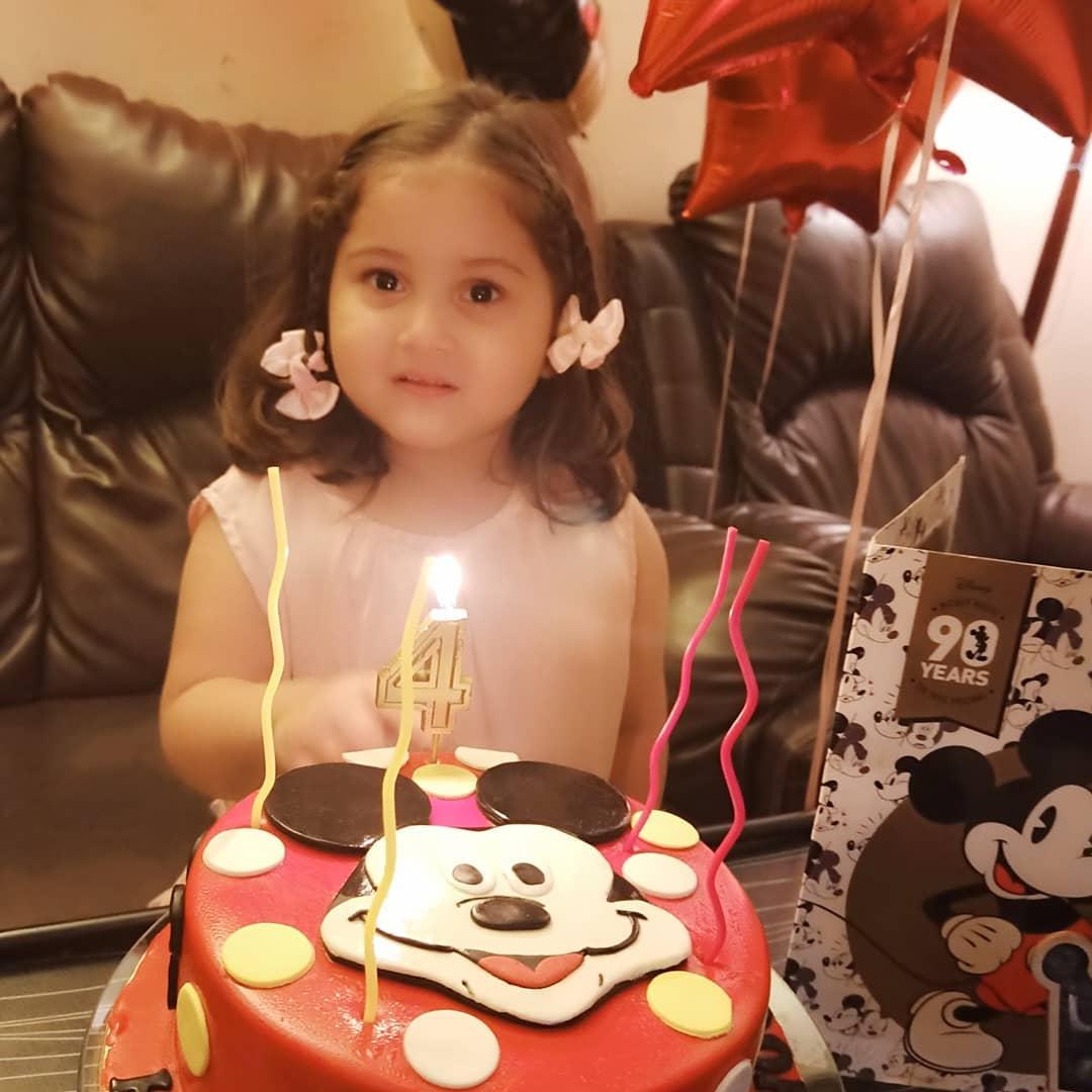 Madiha Rizvi Celebrated her Sweet Daughter Hooriya Birthday