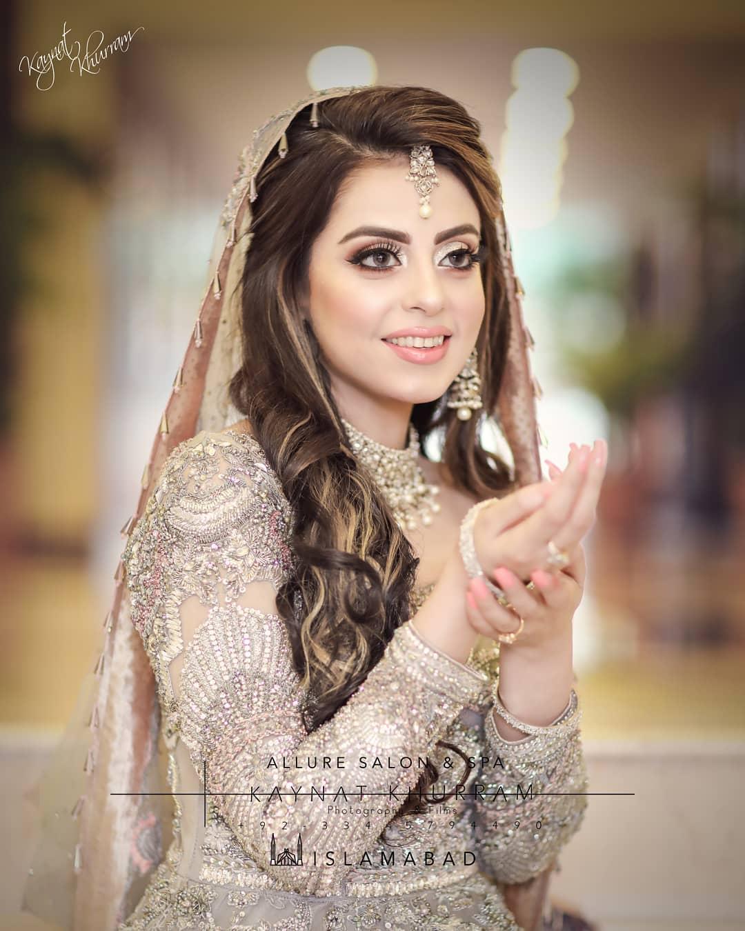New Awesome Bridal Photoshoot of Actress Yashma Gill
