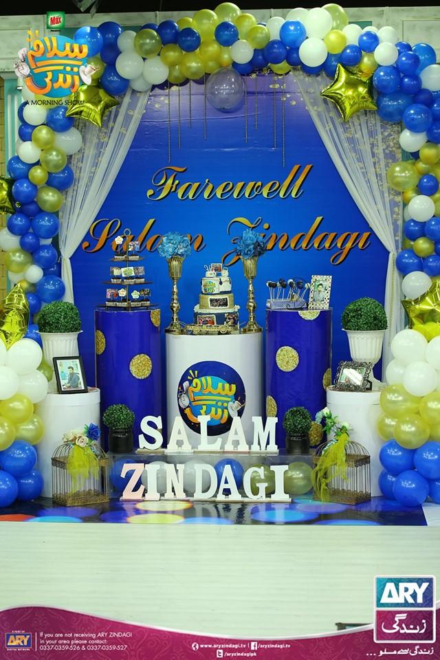 Farewell Episode of Faysal Qureshi Salam Zindagi Morning Show