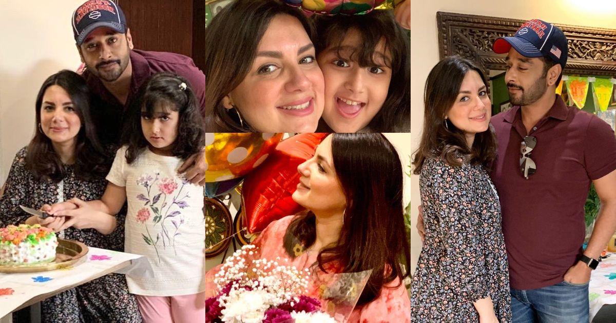 Faisal Qureshi Celebrated His Wife Sana Faysal Birthday