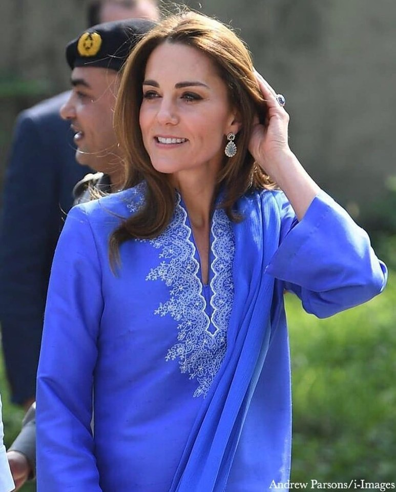 Royal Couple Prince William and Kate Middleton Tour Click of Pakistan