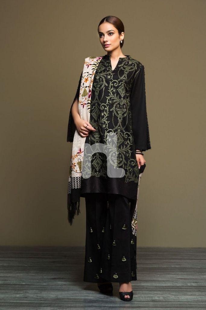 Nishat Linen Unstitched Winter Karandi Collection 2020