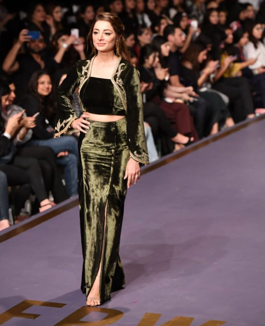 Sarwat Gillani Walked on Ramp at Fashion Pakistan Week-Winter Festive '19