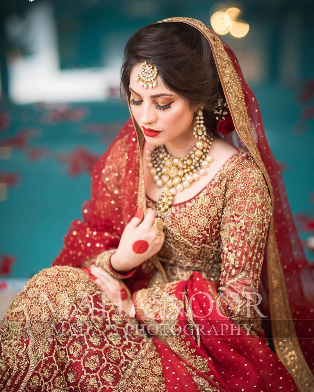 New Bridal Photoshoot of Awesome Neelum Muneer