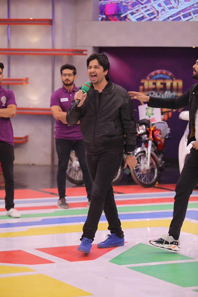 Famous Celebrities Spotted at Jeeto Pakistan 11.11 Special Show
