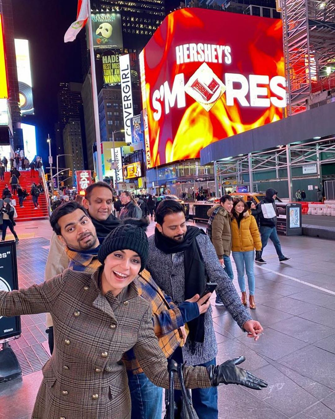 New Pictures of Actress Meera from New York