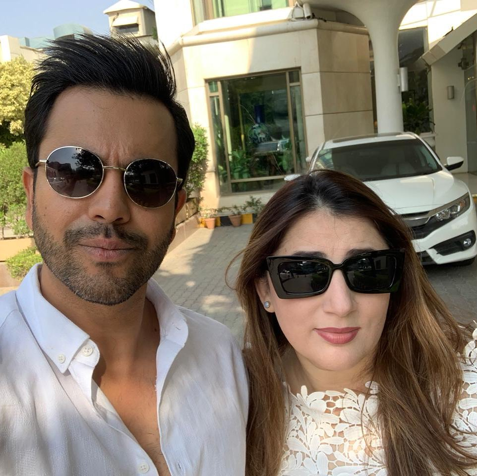 New Pictures of Actor Junaid Khan with his Wife and Son