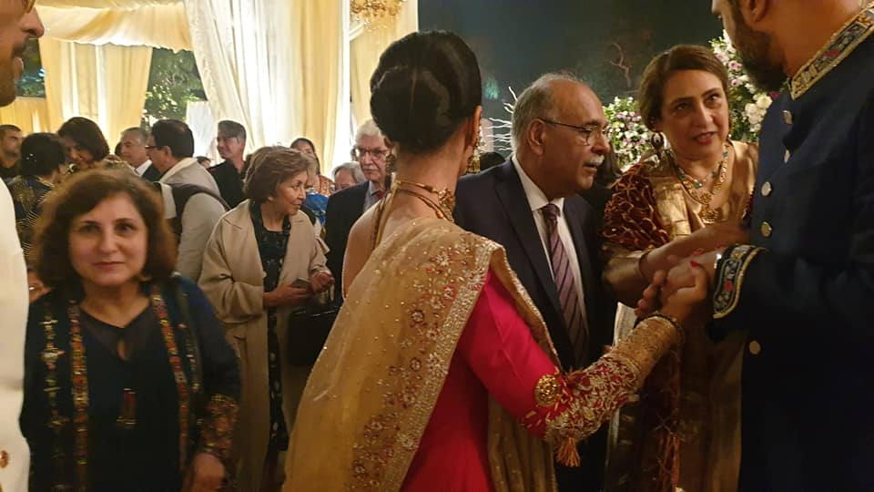 Reception Clicks Of Mira And Bilal Held Last Night In Lahore