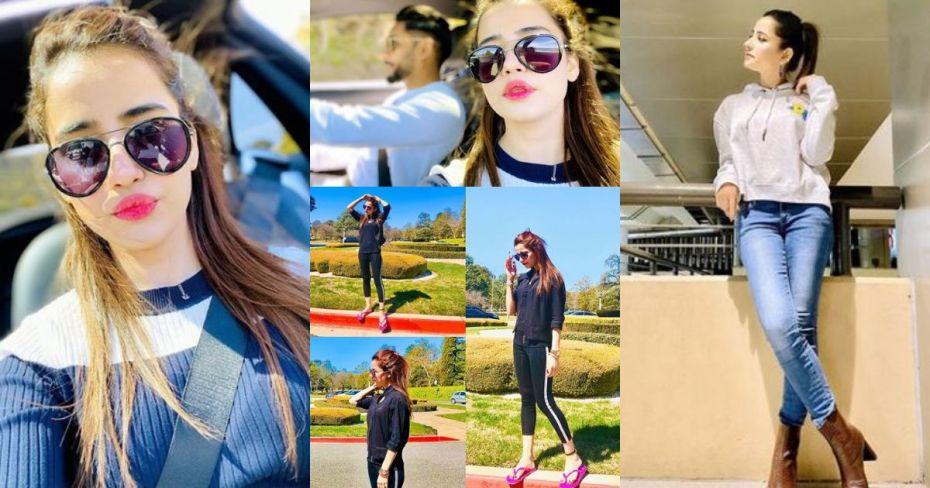 Actress Saniya Shamshad Latest Clicks from Australia