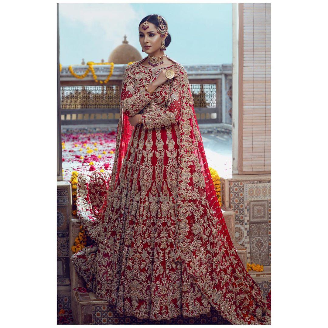 Latest Bridal Photoshoot of Nimra Khan