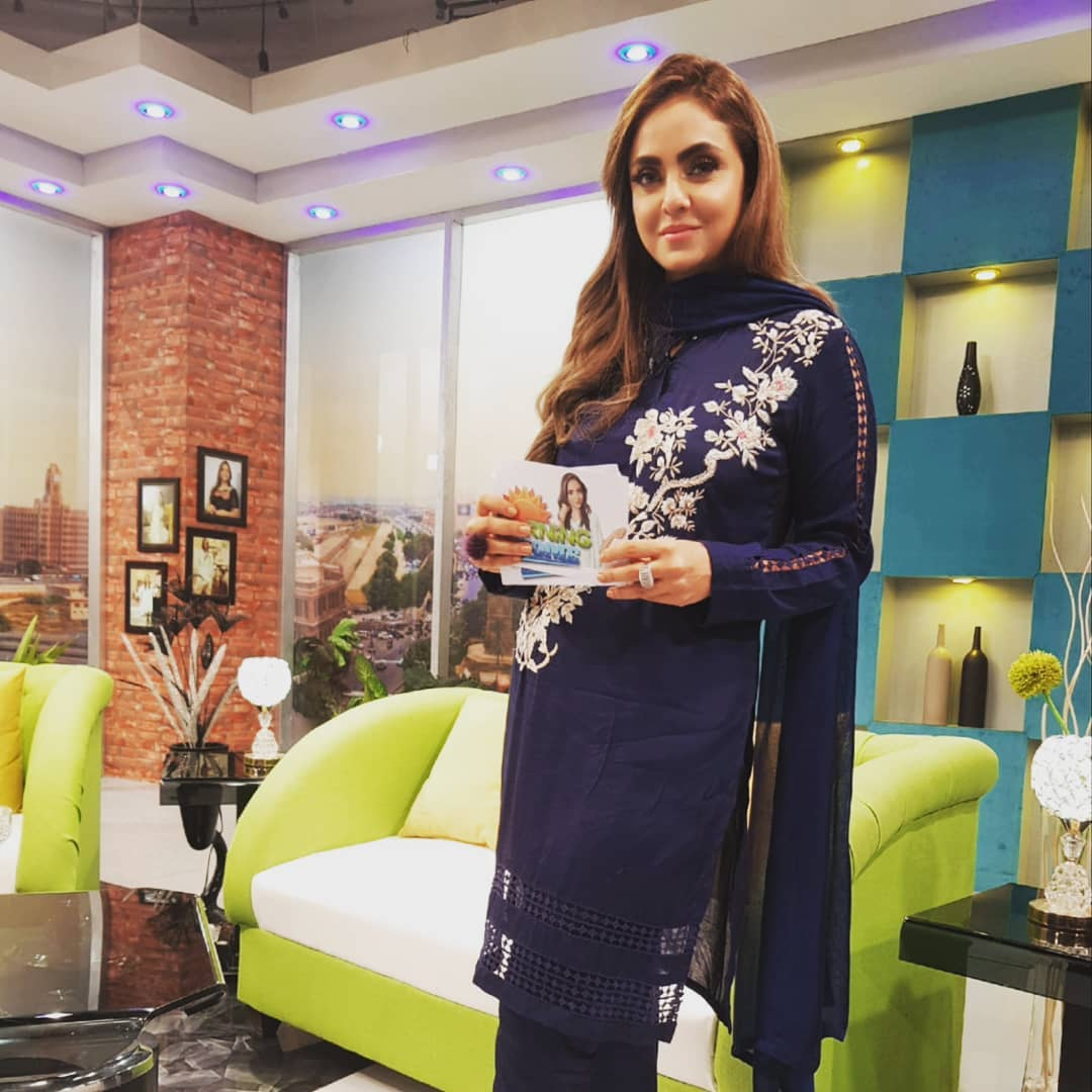 New Pictures of Nadia Khan With her Daughter and Son