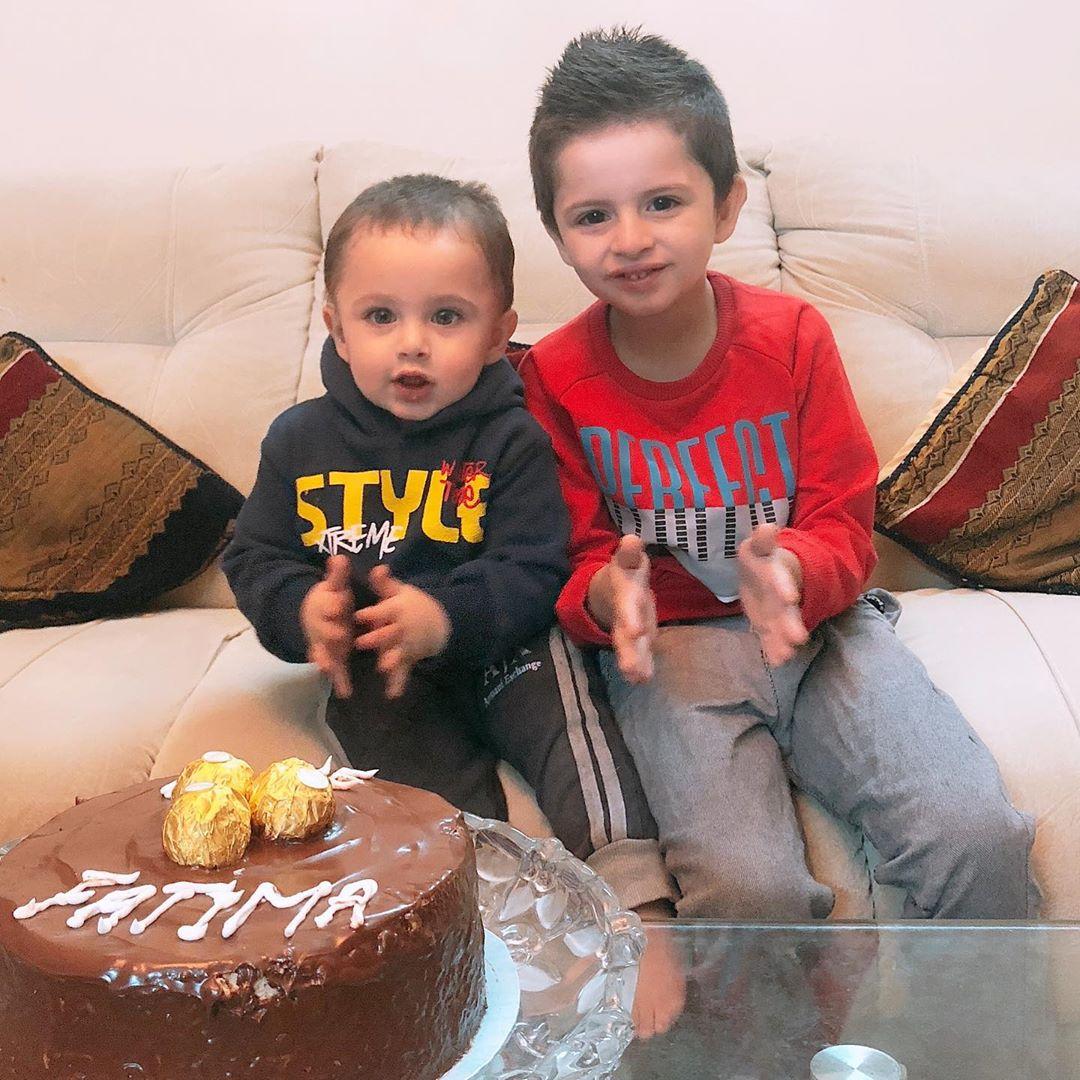 Fatima Effendi and Kanwar Arsalan Wedding Anniversary Clicks
