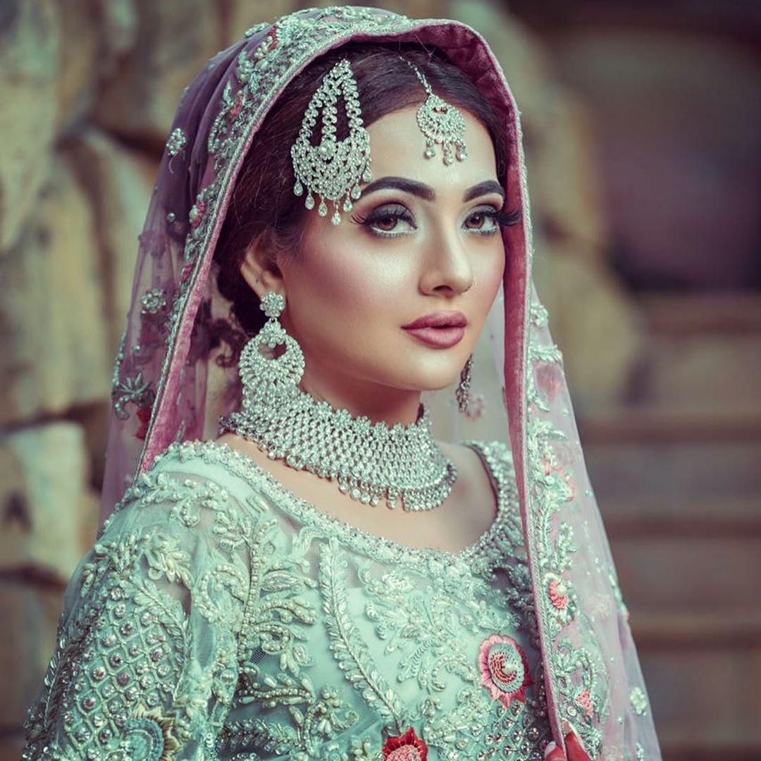 Actress Suzain Fatima New Bridal Photoshoot