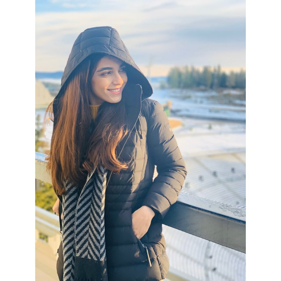 New Awesome Pictures of Maya Ali Enjoying in Oslo Norway